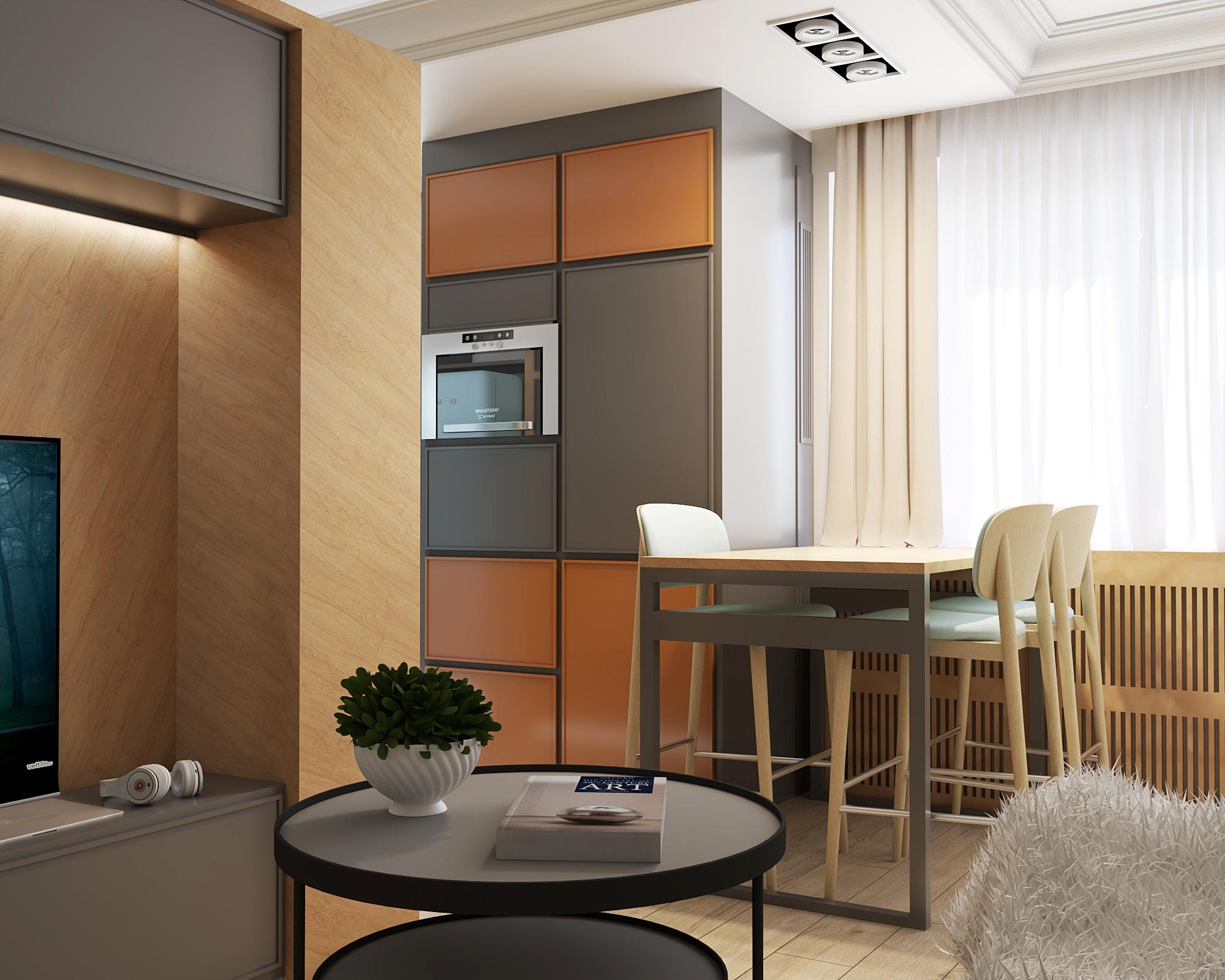 Väikese korteri elutoa sisekujundus
